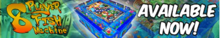 Arcooda 8 Player Fish Machine Now Available