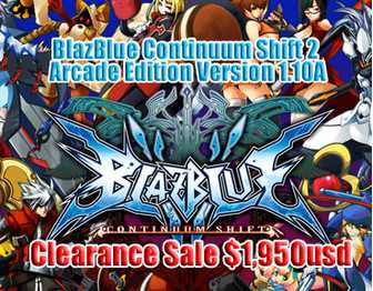 BlazBlue Continuum Shift 2 Arcade Edition Version 1.10A on Sale