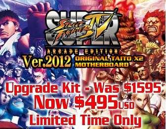 Super Street Fighter IV Upgrade Kit Sale