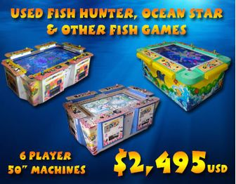 Used Fish Redemption Machines on Sale