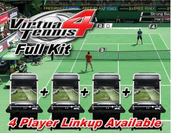 Virtua Tennis 4 Arcade Software Gameboard and Kit