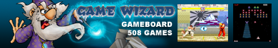 Game Wizard 500+ Arcade Gameboard