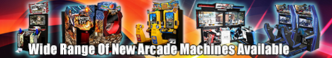 Wide Range Of New Arcade Machines Available - Lowest Price Guarantee!