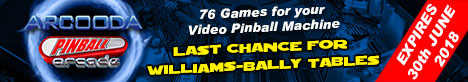 Arcooda Pinball Arcade Offer