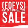 End of Finanical Year Sale!