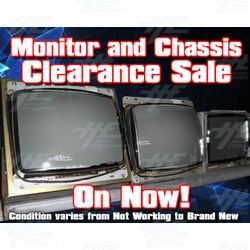 Monitor and Chassis Bulk Clearance Sale