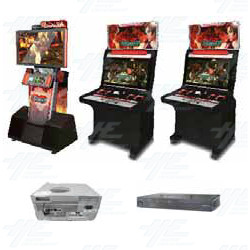 Namco Tekken Tag Tournament 2 Arcade Machine Release Date