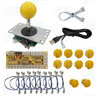 PC Yellow Arcade Joystick Control kit