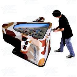 i-Attack Arcade Redemption Machine - Desert Model